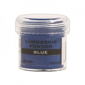 Puder do embossingu Blue