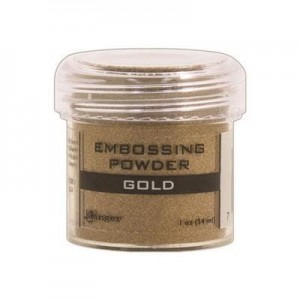 Puder do embossingu Gold