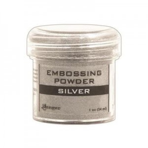 Puder do embossingu Silver