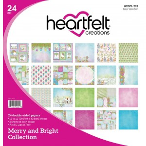 [HCDP1-293] Merry and Bright: 12x12' Paper Pad