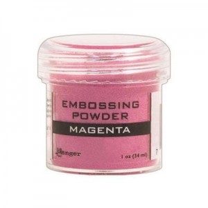 Puder do embossingu Magenta