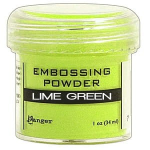 Puder do embossingu Lime Green