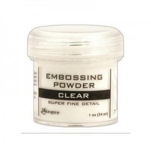 Puder do embossingu Super Fine Clear