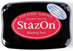 Tusz Stazon Blazing Red