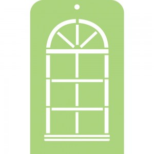 [IT024] Maska 3,5x5,75' Arch Window