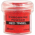 Puder do embossingu Red Tinsel