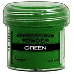 Puder do embossingu Green