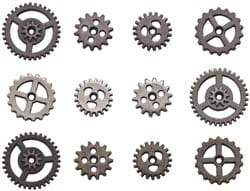 [TH93012] Idea-Ology: Mini Sprocket Gears