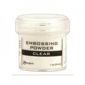 Puder do embossingu Clear