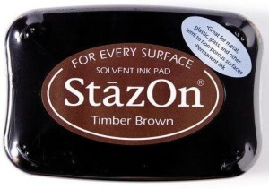 Tusz Stazon Timber Brown