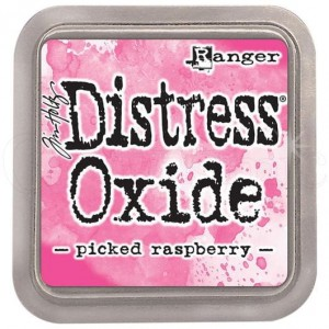 Tusz Distress Oxides Picked Raspberry