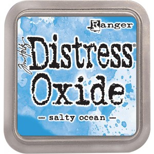 Tusz Distress Oxides Salty Ocean